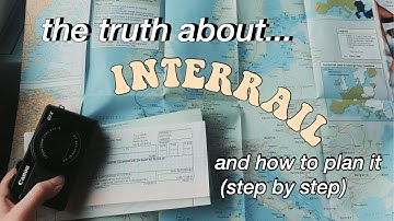 How to plan your interrail (a guide to planning, real cost/budgeting, route)