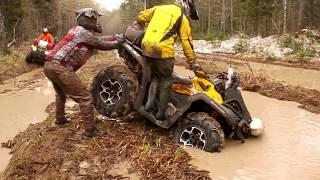 Видео Квадроциклы Красноярск лес BRP Polaris ATV-video