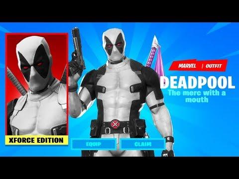 UNLOCKING Deadpool Skin XFORCE FREE In Fortnite Chapter 2 Season 2 Week 9