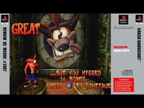 Review de merde #1387 : Crash Bandicoot [PS1]