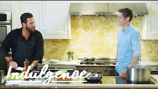 Scott Conant Makes Farfalle, Tomatoes and Burrata | Let's Get Fat