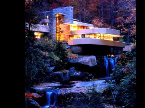 Eric lloyd wright at wichita state university youtube - Maison sur la cascade ...
