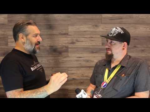 IPCPR 2017 Las Vegas - Pete Johnson with Tatuaje