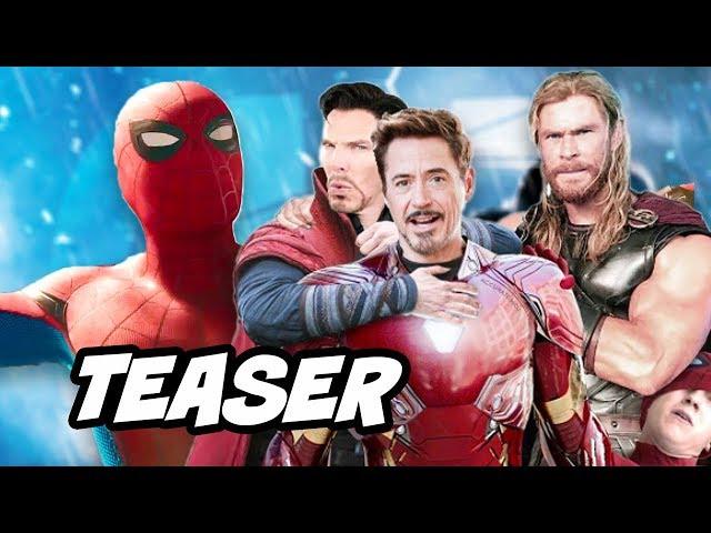 Avengers Infinity War Teaser Trailer - Spider Man Confirmed