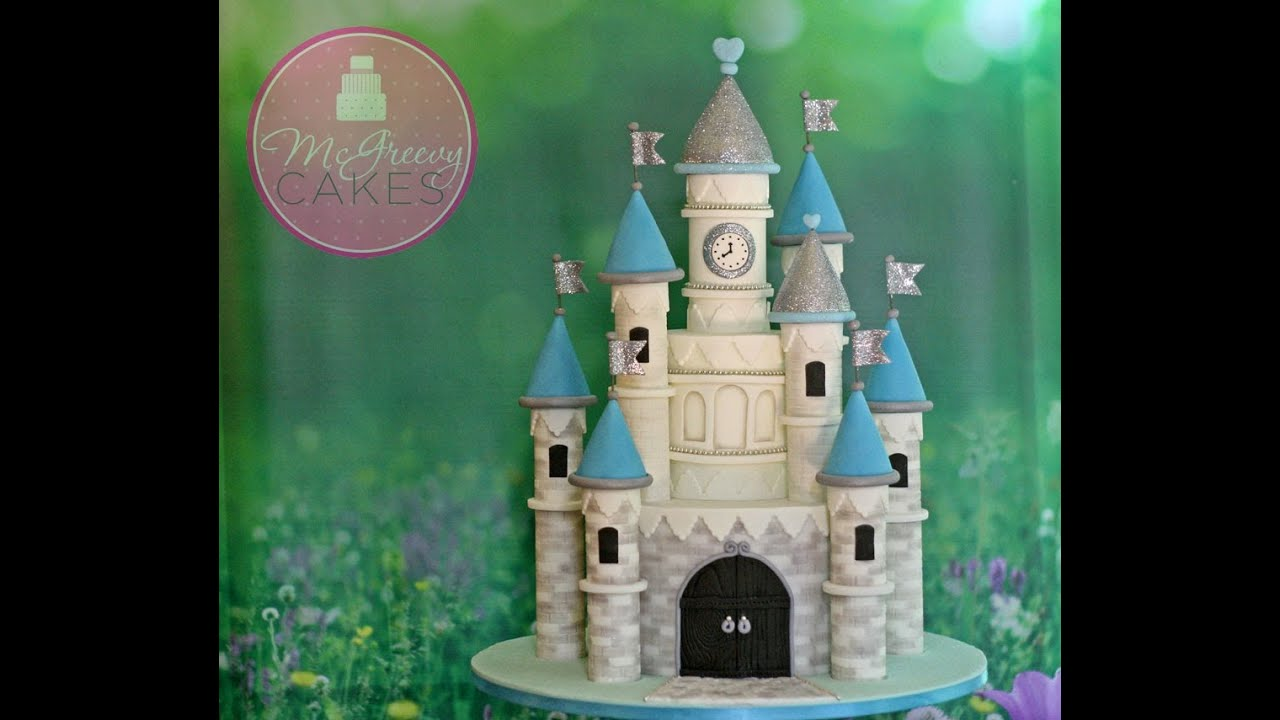 Easy Castle Cake Tutorial