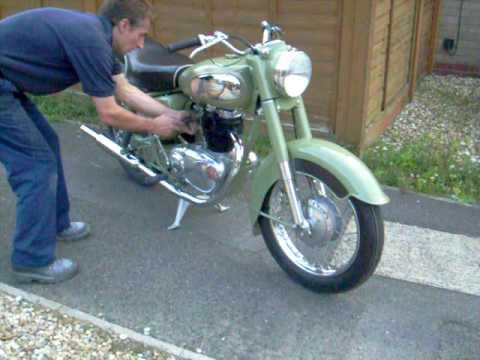 1957 Royal Enfield Crusader 250cc