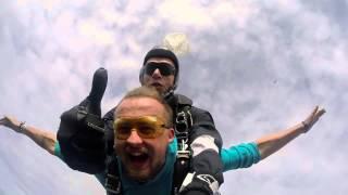 Mantas Katleris ir Aistė I Tandem šuolis 2015-09-12 | Skydive Klaipėda