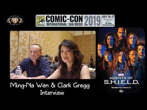 SDCC 2019 | Marvel's Agents of S.H.I.E.L.D. Ming-Na Wen & Clark Gregg  Interview