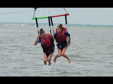 Parasailing At Long Beach Island