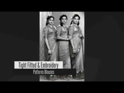Evolution Of The Indian Saree Blouse
