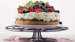 How to make Christmas pudding cheesecake