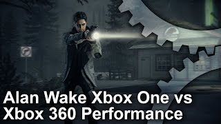 Alan Wake Xbox One Backward Compatibility Analysis