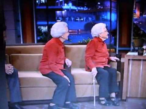 Ben Affleck gets dissed by 100 year-old woman on the Tonight Show.