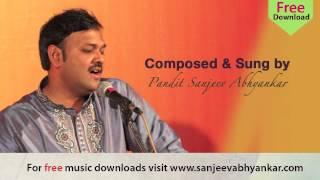 Pandit Sanjeev Abhyankar- Classical -Raag Vrindavani Sarang-Part 2-Tarana