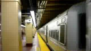 LIRR 674 leaves New York-Penn Station for Huntington