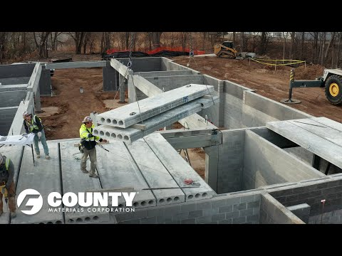 Advantages of County Materials' Hollowcore - Lexington Flats Project Feature