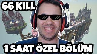 66 Kill PRO TAKIM EFSANE TRYHARD MAÇLAR 1 SAAT ÖZEL BÖLÜM  Minecraft Egg Wars
