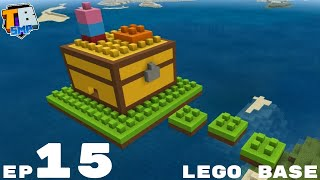 Starting My Lego Base - Truly Bedrock Season 2 Minecraft SMP Episode 15