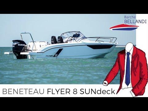 Beneteau Flyer 8 Sundeck [Novità in anteprima mondiale dal salone di Cannes 2018]