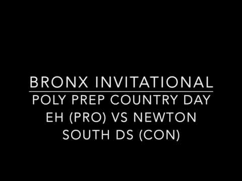Poly Prep EH vs Newton South DS Bronx Dubs