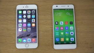 iPhone 6 vs Huawei Honor 6 Review 4K
