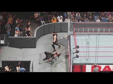 WWE-2K19:Braun Strowman vs.