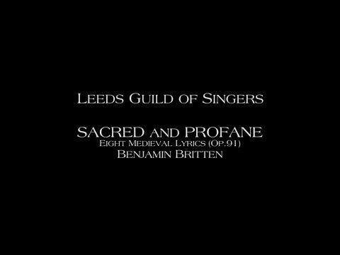 Britten: Sacred & Profane - 3.