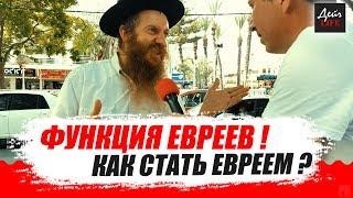 Евреем можно стать? Еврейская правда!