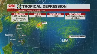 PAGASA: 'Rolly' now in PH, may develop into typhoon