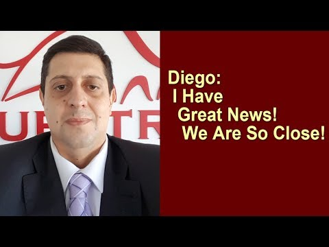 Questra AGAM - Diego: I Have Great News! We Are So Close!