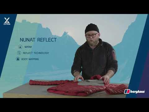Nero berghaus Uomo Giacca Nunat Mountain Reflect