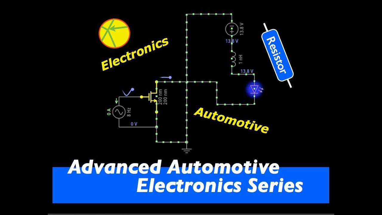 Maf Hot Film Sensor Signal Circuit Youtube Mins Ecm Wiring Diagram