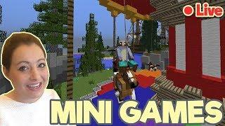 🔴 LIVE! Minecraft Minigames