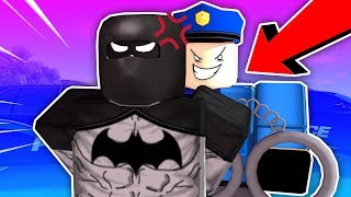SUPERHEROES VS ENTIRE POLICE FORCE (ROBLOX LIBERTY COUNTY)
