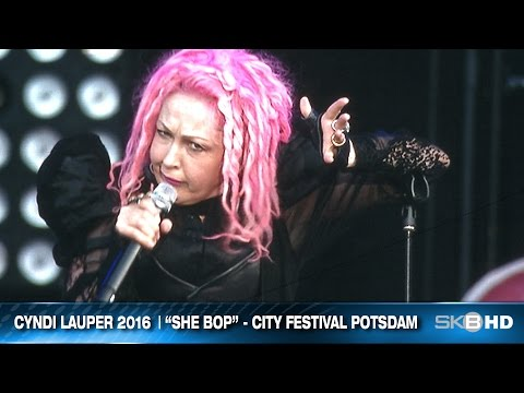 "CYNDI LAUPER ""SHE BOP"" 