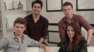 Dylan O'Brien and Costars on Who Would Survive The Maze Runner World