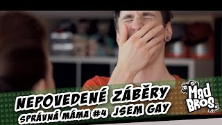 Nepovedené záběry | Behind the scenes | Správná Máma | Jsem gay