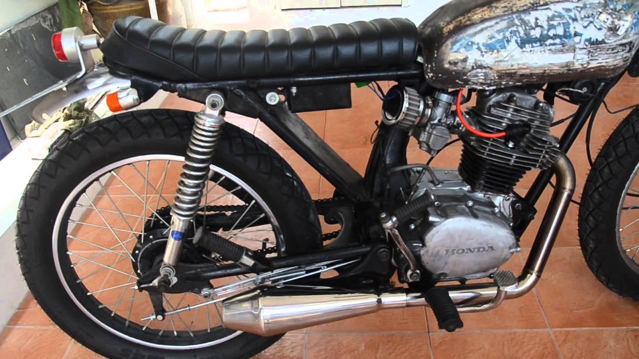 Honda CB100 Custom Kick Start