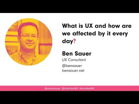 What is UX and how are we affected by it every day?