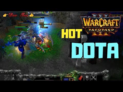 Warcraft 3 Reforged:  DOTA - Sven (The  Rogue Knight) Skills !!!