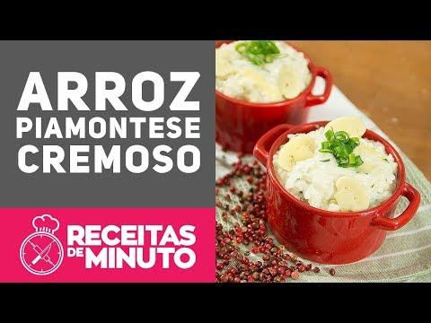 ARROZ À PIAMONTESE (COMO FAZER) - Receitas de Minuto EXPRESS #275
