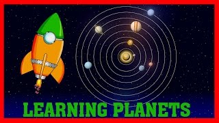 Planets of the Solar System | Videos for Kids | Learn how to build a Rocket