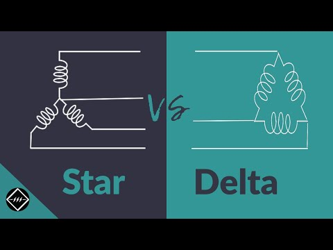 Star and Delta Connection - Explained | TheElectricalGuy