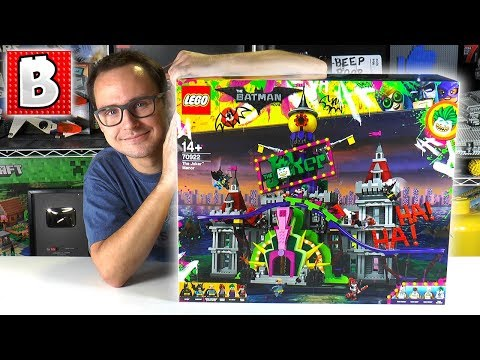 LEGO The Joker Manor is HERE!!! 70922 LEGO Batman Movie | Brick Vault LIVE Build & Review - The biggest set of the LEGO Batman Movie line!