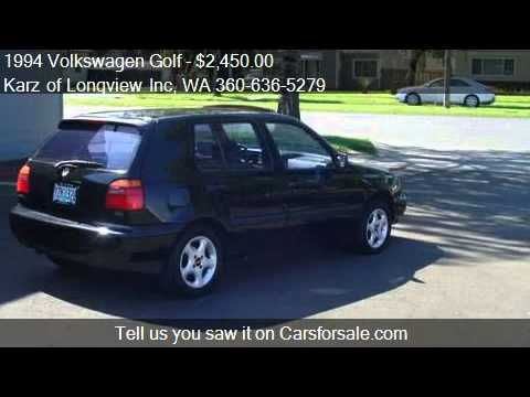 1994 Volkswagen Golf 4-DOOR - for sale in Longview, WA 98632