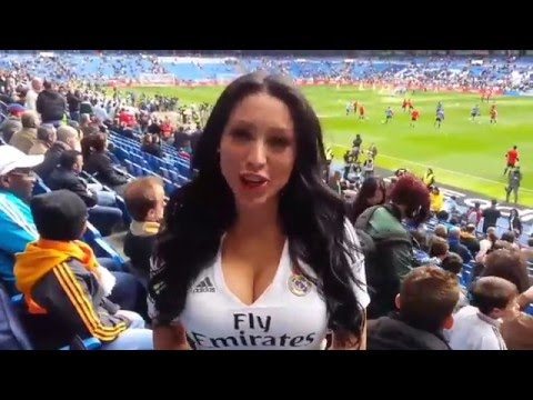Real Madrid Bernabeu girls!