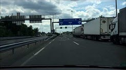 Border Crossing Hungary (EU) - Serbia I Grenzübergang EU - Serbien I Highway I Europe Tour 2017