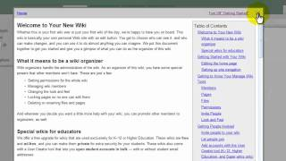 Collaboration: Wiki