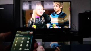 Tablet nebo mobil jako váš televizní ovladač