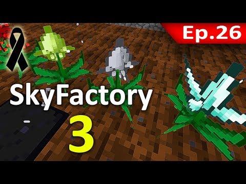 🏭 Minecraft: Sky Factory 3 - สร้างเมล็ดพันธุ์พืชด้วยตัวเอง #26